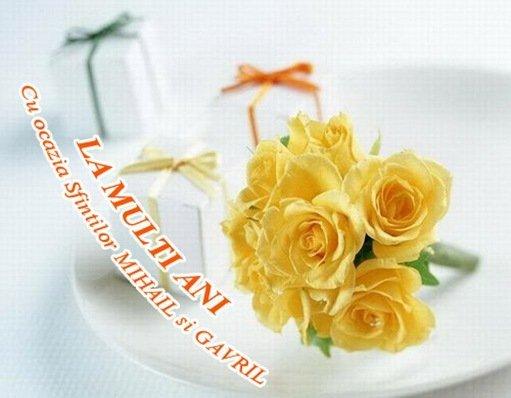 Felicitari de Sf. Mihail si Sf. Gavril