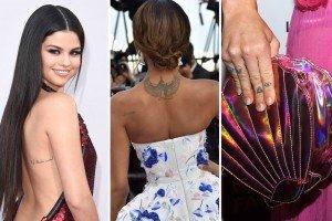 Tatuaje inspirate de vedete. Vezi cele mai frumoase tatuaje ale vedetelor!