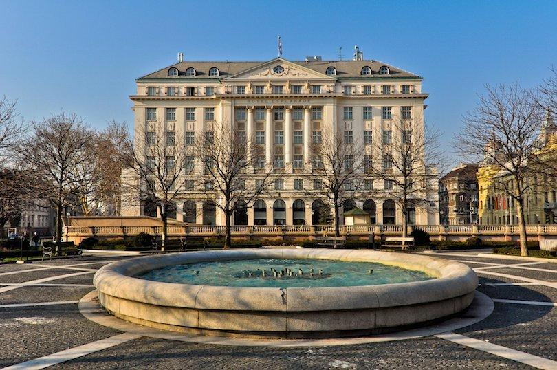 Hotel Esplanade, the famous hotel in Zagreb, Croatia
