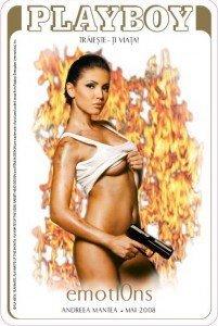 Pictorial Andreea Mantea in Playboy