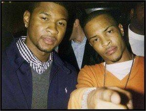 "Single nou Usher featuring T.I. – ""Guilty"""