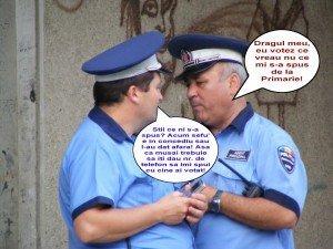 Bancuri cu politisti