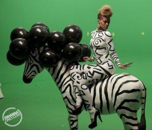 Parodie la videoclipul Rihannei, Rude Boy