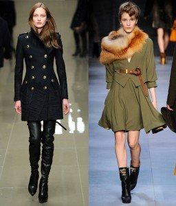 Trend de toamna 2010: Moda militara