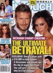 Scandal sexual in familia Beckham