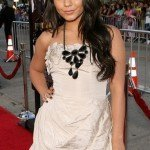 """Actress Vanessa Hudgens arrives to the Los Angeles Premiere of """"Bandslam"""" at Mann Village Theatre on August 6, 2009 in Westwood, California."""