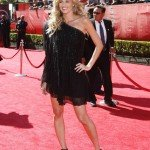 TV Personality Erin Andrews arrives at the 17th Annual ESPY Awards at the Nokia Theatre LA Live on July 15, 2009 in Los Angeles, California.