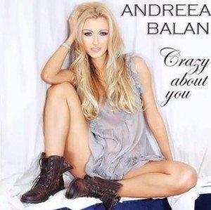 "Andreea Balan a lansat single-ul ""Crazy About You"""