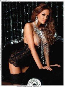 Bianca Dragusanu, a pozat din nou in Playboy