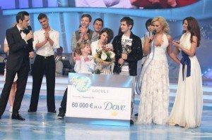 "VIDEO Octavian Strunila si Ella Dumitru au castigat trofeul ""Dansez pentru tine"""