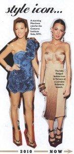 (POZE) Blake Lively in Cosmopolitan Australia editia din februarie 2011