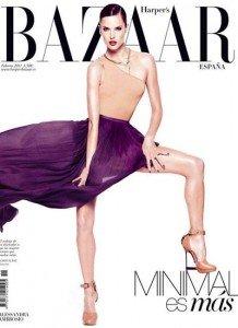 Alessandra Ambrosio, pictorial in Harper's Bazaar
