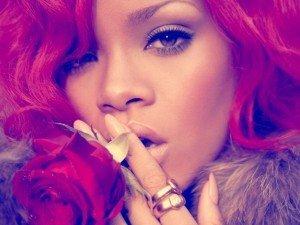 """Imagini cu Rihanna de la filmarea videoclipului """"S&M"""""""