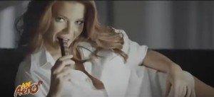 Reclama sexy la ciocolata Joe Aero cu Radu Valcan si Gina Pistol