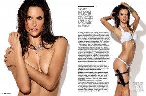 Alessandra Ambrosio super pictorial in revista GQ 2011