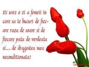 Declaratii de dragoste pentru Ziua Femeii