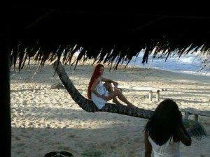 "Rihanna filmeaza videoclipul piesei ""Man Down"". Poze de la filmari"