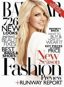 Britney Spears pe coperta Harper's Bazaar  Iunie – Iulie 2011