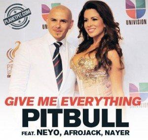 """Versuri Pitbull – """"Give Me Everything"""""""