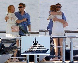 Poze cu Leonardo DiCaprio si Blake Lively