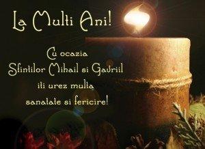 Mesaje si sms-uri de Sf. Mihail si Gavril – Urari si felicitari pentru sarbatoriti