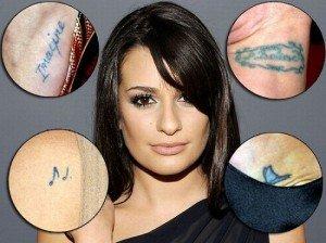 Cele mai hot modele de tatuaje detinute de divele de la Hollywood