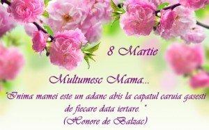 Texte speciale pentru felicitari de 8 MARTIE pentru ziua mamei