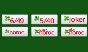 Rezultate Loto 6/49, Noroc, Joker, Loto 5/40, Super Noroc şi Noroc Plus 13 martie 2014