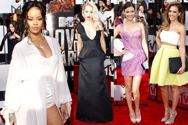 vedete bine imbracate la MTV movie awards