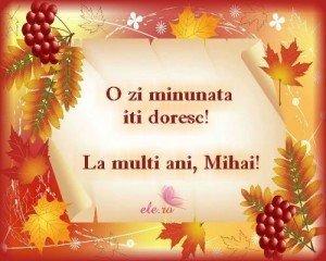 Felicitari virtuale Mihail si Gavril