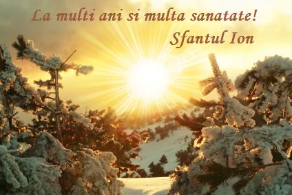 Mesaje Sf Ioan, urari sf ion, felicitari sf ioan botezatorul34