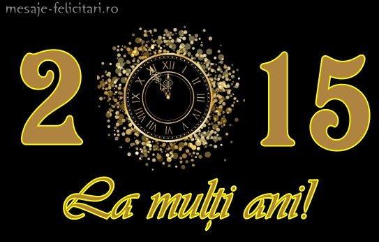 felicitari anul nou 2015_urari